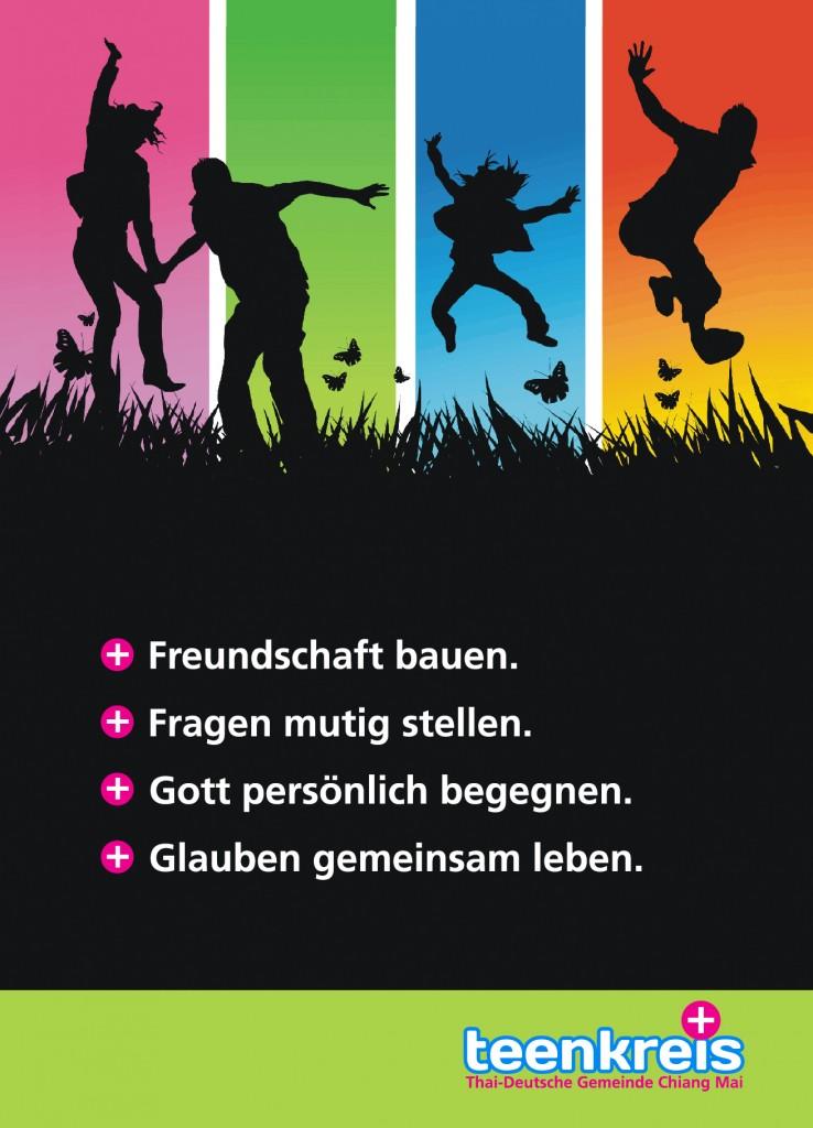 Flyer-Teenkreis