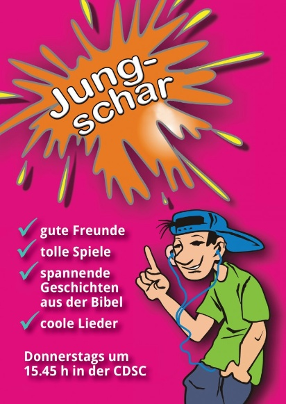Flyer-Jungschar