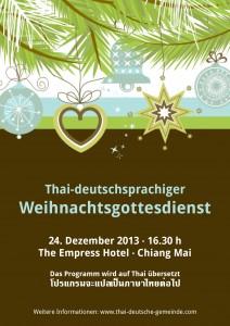 Postcard_Thai-deutschsprachiger Weihnachtgottesdienst 2013